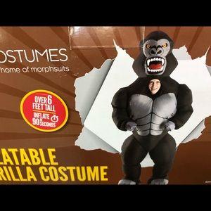 New Inflatable gorilla costume
